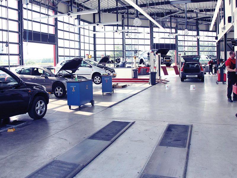 Uurloon autobedrijven