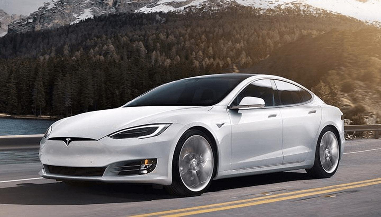 Tesla model S of X van de zaak en de fiscale voordelen