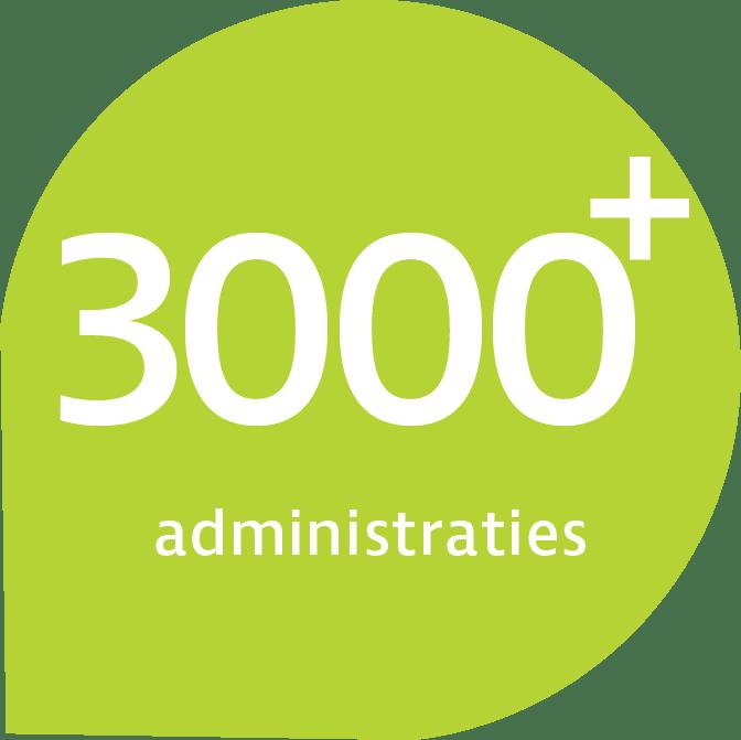 3000 administraties