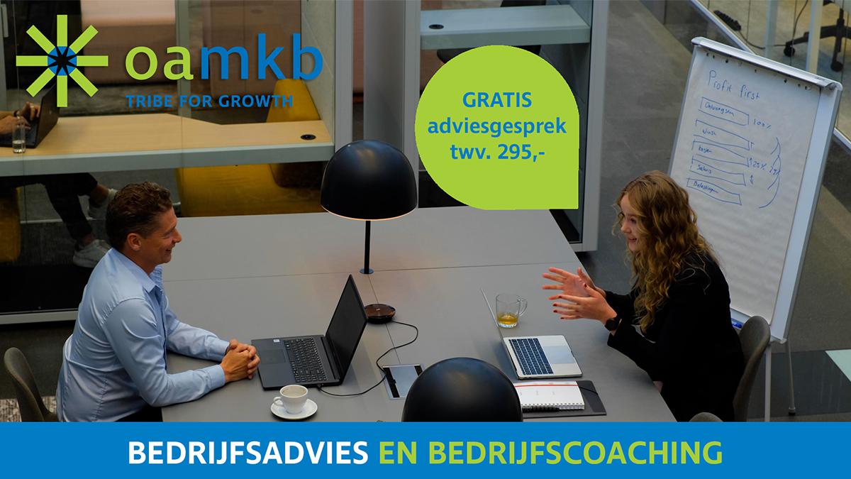 Gratis adviesgesprek bedrijfsadvies en bedrijfscoaching t.w.v. €295